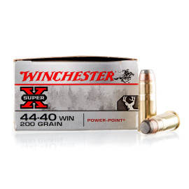 Image For 50 Rounds Of 200 Grain SP Boxer Brass 44-40 Win Winchester Ammunition