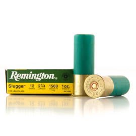Image For 5 Rounds Of 1 oz. Rifled Slug 12 Gauge Remington Ammunition