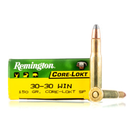 Image For 20 Rounds Of 150 Grain SP Boxer Brass 30-30 Remington Ammunition