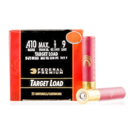 Image For 25 Rounds Of #9 Shot 410 Federal Ammunition
