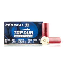 Image For 250 Rounds Of 1 oz. #7-1/2 Shot 12 Gauge Federal Ammunition