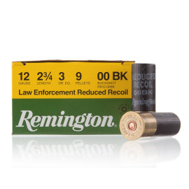 Image For 25 Rounds Of #00 Buck 12 Gauge Remington Ammunition