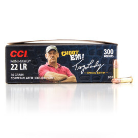 Image For 300 Rounds Of 36 Grain CPHP Rimfire Brass 22 LR CCI Ammunition