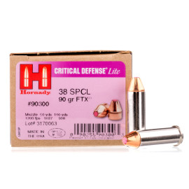 Image For 25 Rounds Of 90 Grain JHP Boxer Nickel-Plated Brass 38 Special Hornady Ammunition