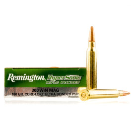 Image For 20 Rounds Of 180 Grain PSP Boxer Brass 300 Win Mag Remington Ammunition