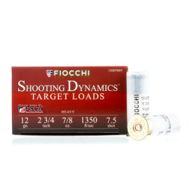 Image For 25 Rounds Of 7/8 oz. #7-1/2 Shot 12 Gauge Fiocchi Ammunition