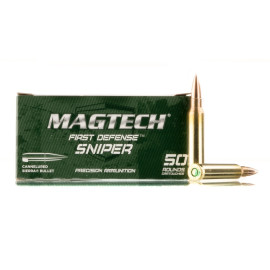 Image For 50 Rounds Of 77 Grain HPBT Boxer Brass 5.56x45 Magtech Ammunition