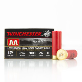 Image For 25 Rounds Of 7/8 oz. #8 Shot 12 Gauge Winchester Ammunition