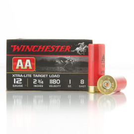 Image For 250 Rounds Of 1 oz. #8 Shot 12 Gauge Winchester Ammunition