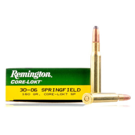 Image For 20 Rounds Of 180 Grain SP Boxer Brass 30-06 Remington Ammunition