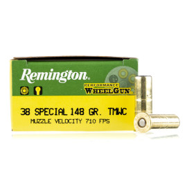 Image For 50 Rounds Of 148 Grain LWC Boxer Brass 38 Special Remington Ammunition