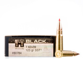 Image For 20 Rounds Of 123 Grain SST Boxer Brass 7.62x39 Hornady Ammunition