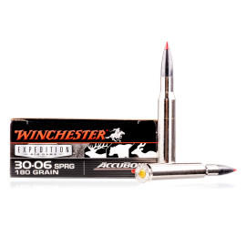 Image For 20 Rounds Of 180 Grain Polymer Tipped Boxer Brass 30-06 Winchester Ammunition