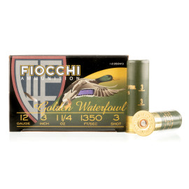 Image For 25 Rounds Of 1-1/4 oz. #3 Shot 12 Gauge Fiocchi Ammunition