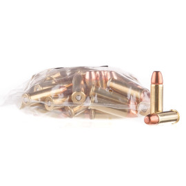Image For 100 Rounds Of 158 Grain PRNFP Boxer Brass 38 Special MBI Ammunition