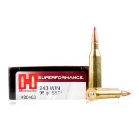 Image For 20 Rounds Of 95 Grain SST Boxer Brass 243 Win Hornady Ammunition