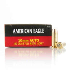 Image For 50 Rounds Of 180 Grain FMJ Boxer Brass 10mm Federal Ammunition