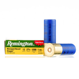 Image For 250 Rounds Of 1 oz. Rifled Slug 12 Gauge Remington Ammunition