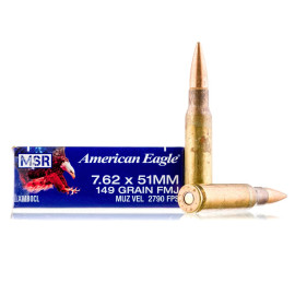 Image For 500 Rounds Of 149 Grain FMJ Boxer Brass 308 Win Federal Ammunition