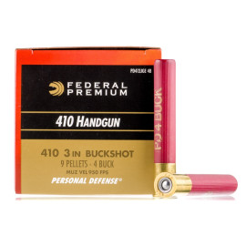 Image For 200 Rounds Of #4 Buck 410 Federal Ammunition
