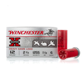 Image For 250 Rounds Of 1-1/8 oz. #6 Shot 12 Gauge Winchester Ammunition