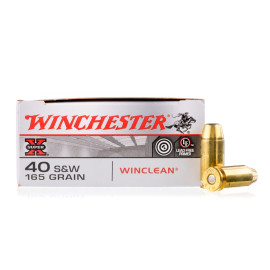 Image For 50 Rounds Of 165 Grain BEB Boxer Brass 40 Cal Winchester Ammunition