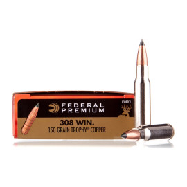 Image For 20 Rounds Of 150 Grain Polymer Tipped Boxer Nickel-Plated Brass 308 Win Federal Ammunition