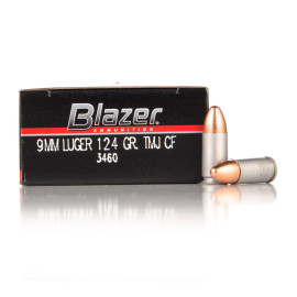 Image For 1000 Rounds Of 124 Grain TMJ Boxer Aluminum 9mm CCI Ammunition