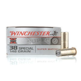 Image For 50 Rounds Of 148 Grain LWC Boxer Brass 38 Special Winchester Ammunition