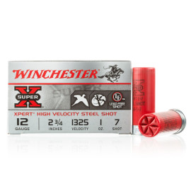 Image For 100 Rounds Of 1 oz. #7 Shot 12 Gauge Winchester Ammunition