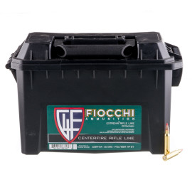 Image For 200 Rounds Of 50 Grain V-MAX Boxer Brass 223 Rem Fiocchi Ammunition