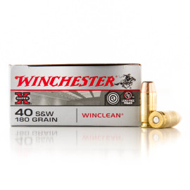 Image For 50 Rounds Of 180 Grain BEB Boxer Brass 40 Cal Winchester Ammunition