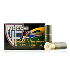 Image For 25 Rounds Of 1-1/4 oz. #2 Shot Zinc Plated Steel 12 Gauge Fiocchi Ammunition