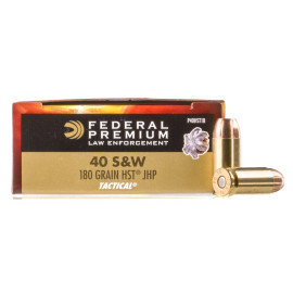 Image For 1000 Rounds Of 180 Grain JHP Boxer Brass 40 Cal Federal Ammunition