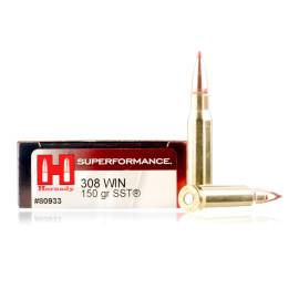 Image For 20 Rounds Of 150 Grain SST Boxer Brass 308 Win Hornady Ammunition