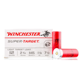 Image For 250 Rounds Of 1-1/8 oz. #7-1/2 Shot 12 Gauge Winchester Ammunition