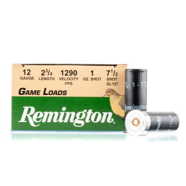Image For 250 Rounds Of 1 oz. #7-1/2 Shot 12 Gauge Remington Ammunition