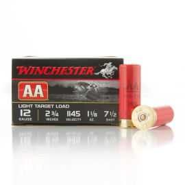 Image For 25 Rounds Of 1-1/8 oz. #7-1/2 Shot 12 Gauge Winchester Ammunition