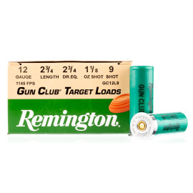 Image For 25 Rounds Of 1-1/8 oz. #9 Shot 12 Gauge Remington Ammunition