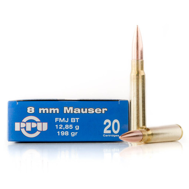 8mm Ammo at Ammo com: Cheap 8mm Mauser Ammo in Bulk