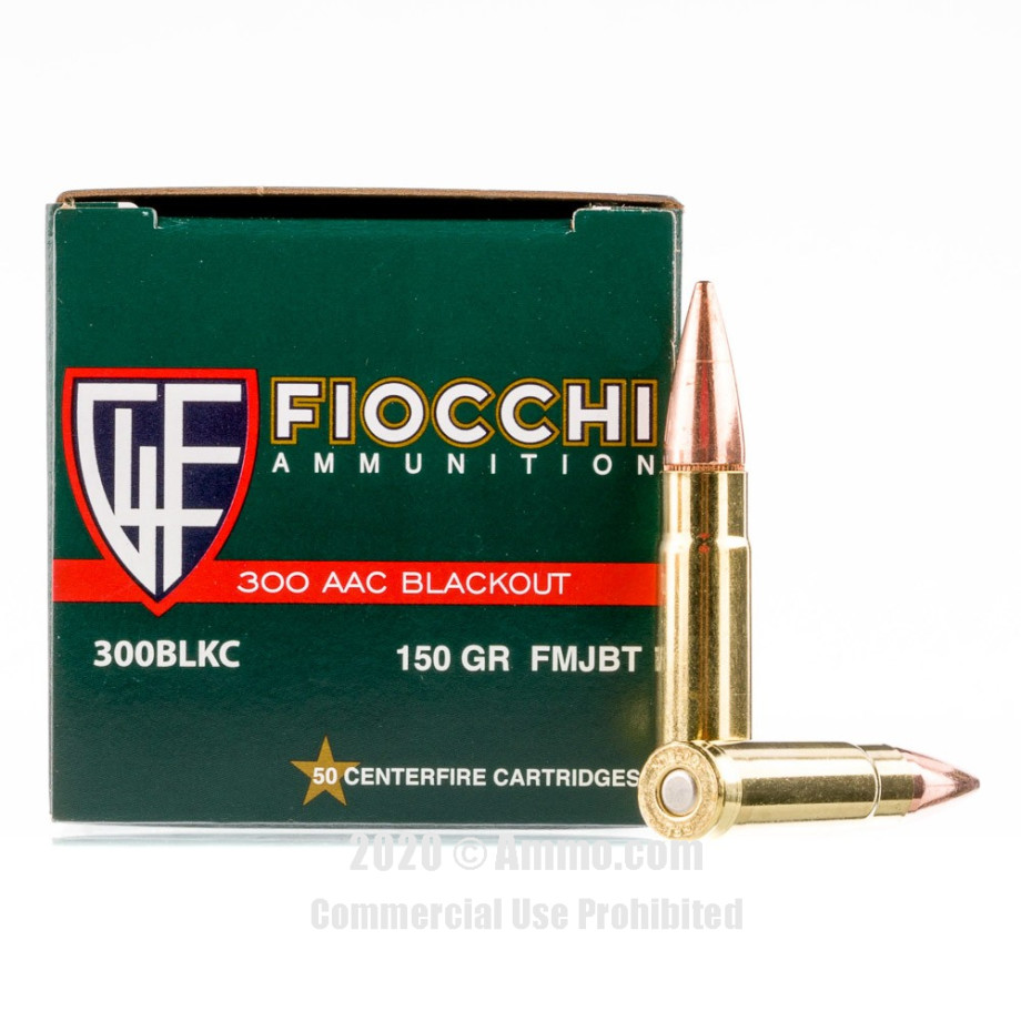 500 Rounds Of 300 Blackout Ammo From Fiocchi