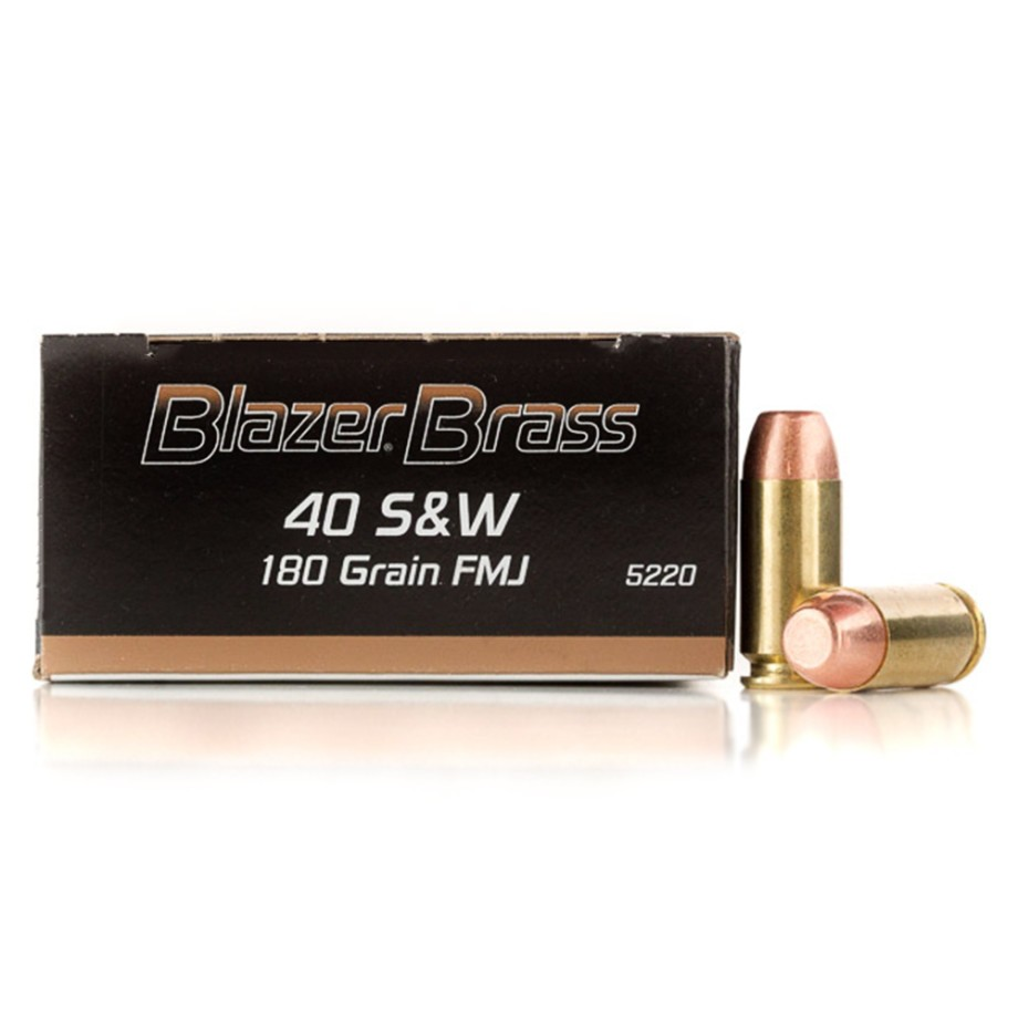 40 Cal Handgun Ammo From Blazer Brass For Sale