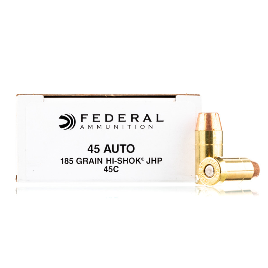 1000 Rounds Of 45 Auto Handgun Ammo From Federal