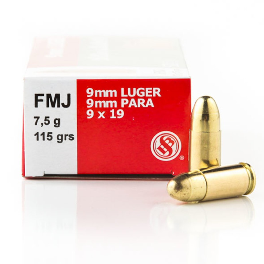 9mm Handgun Ammo From Sellier and Bellot For Sale