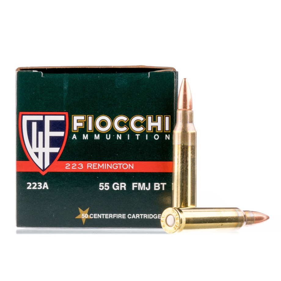 223 Rem Rifle Ammo From Fiocchi For Sale