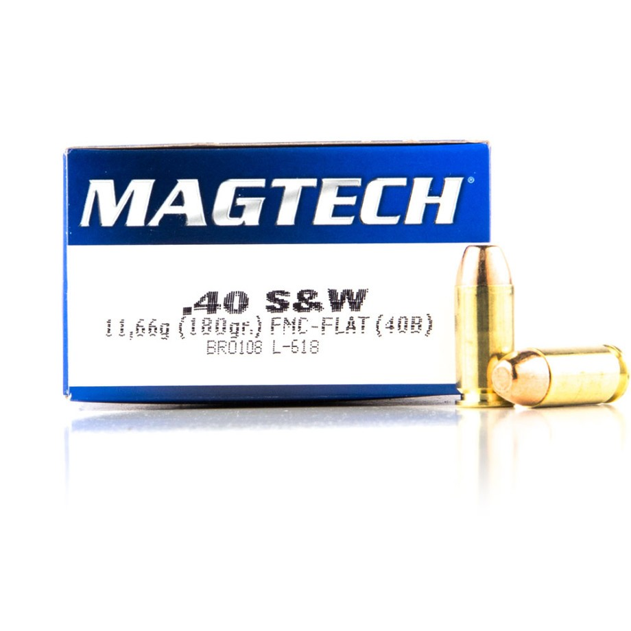 Discount Magtech 40 Cal  180 Grain Handgun Ammunition