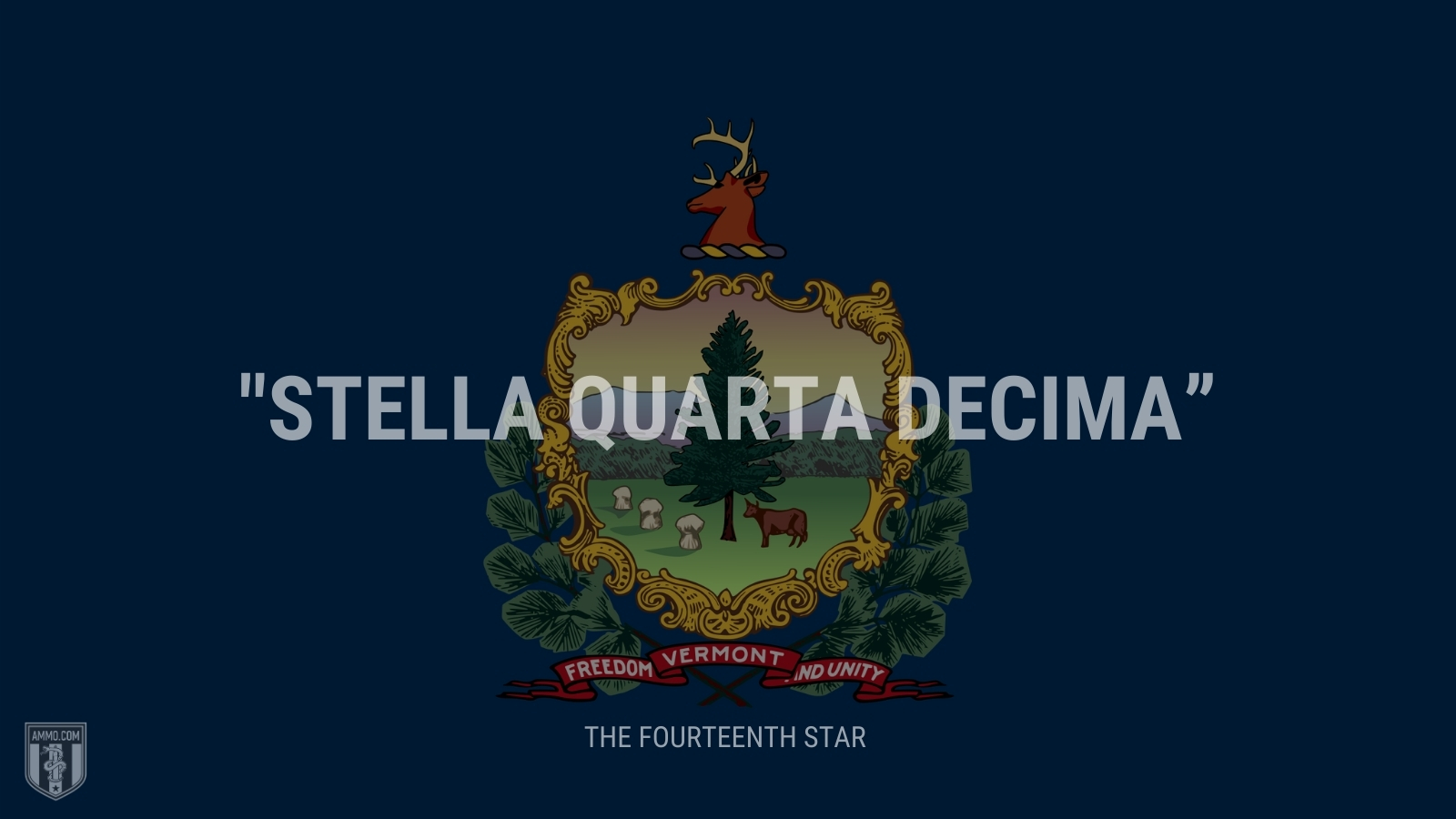 """Stella quarta decima"" - The fourteenth star"