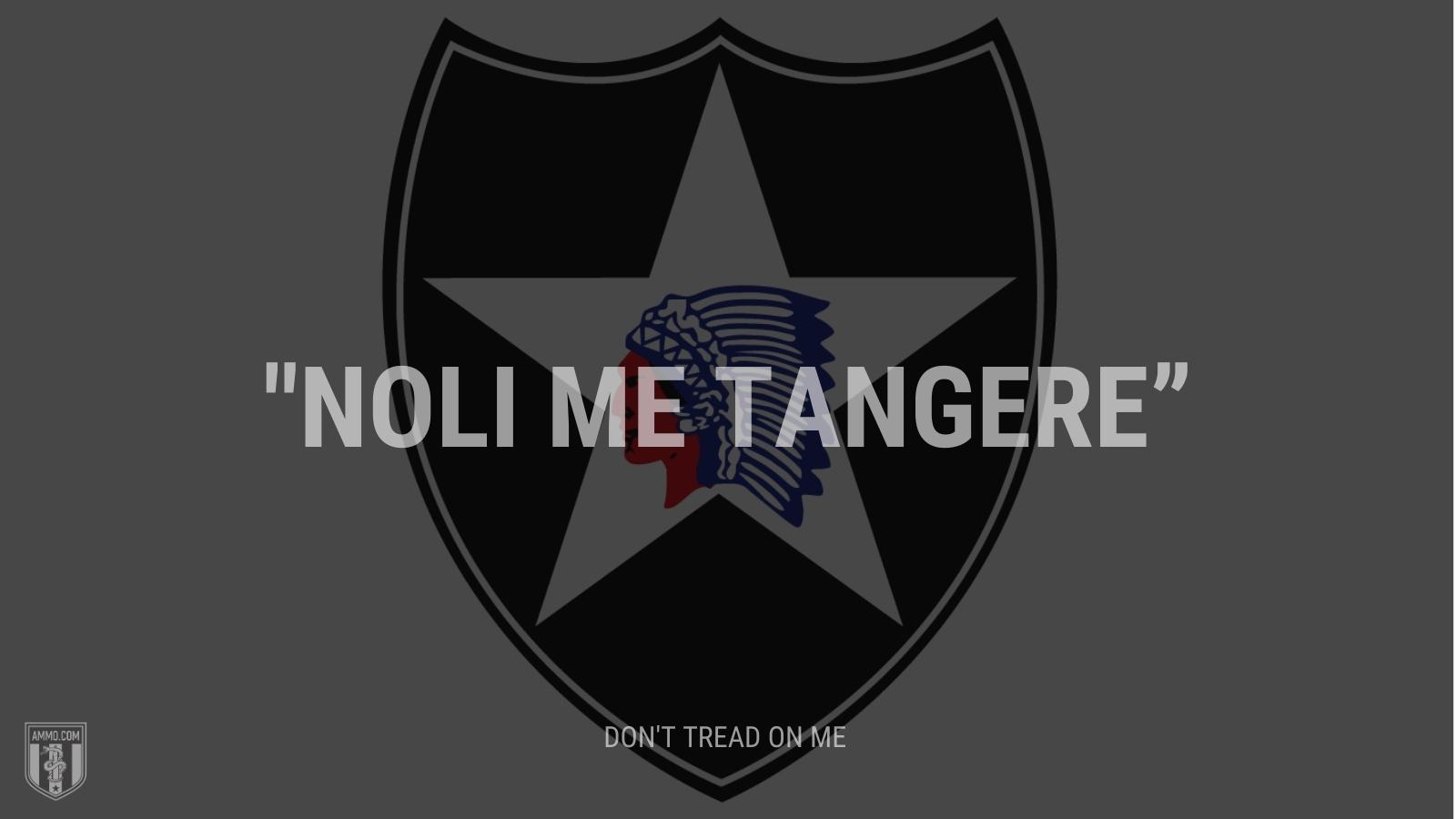 """""""Noli me tangere"""" - Don't tread on me"""