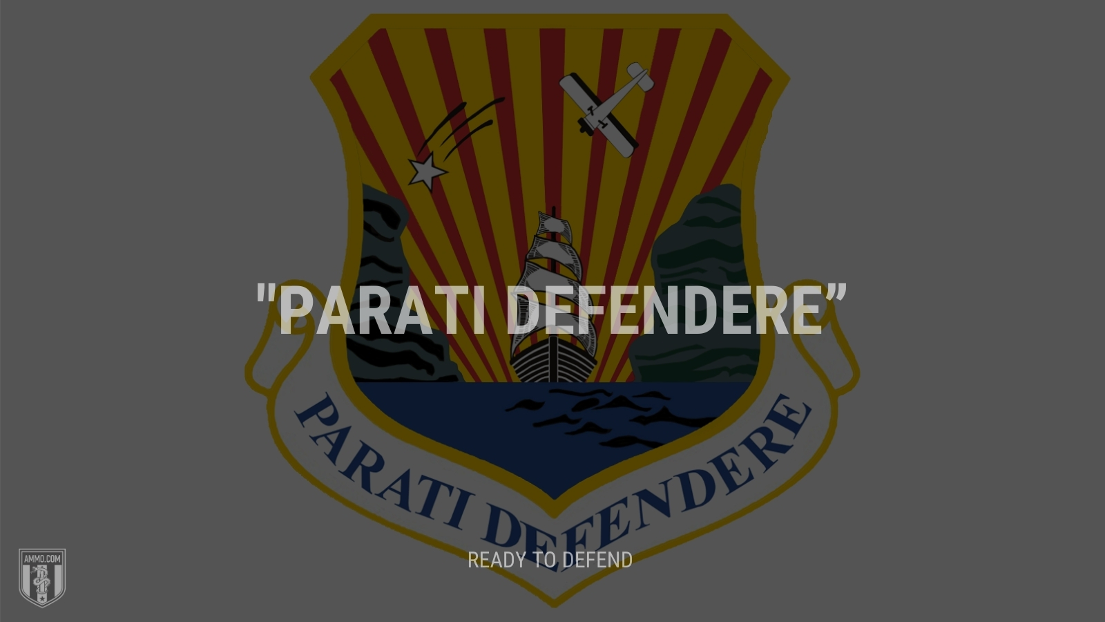 """""""Parati defendere"""" - Ready to defend"""