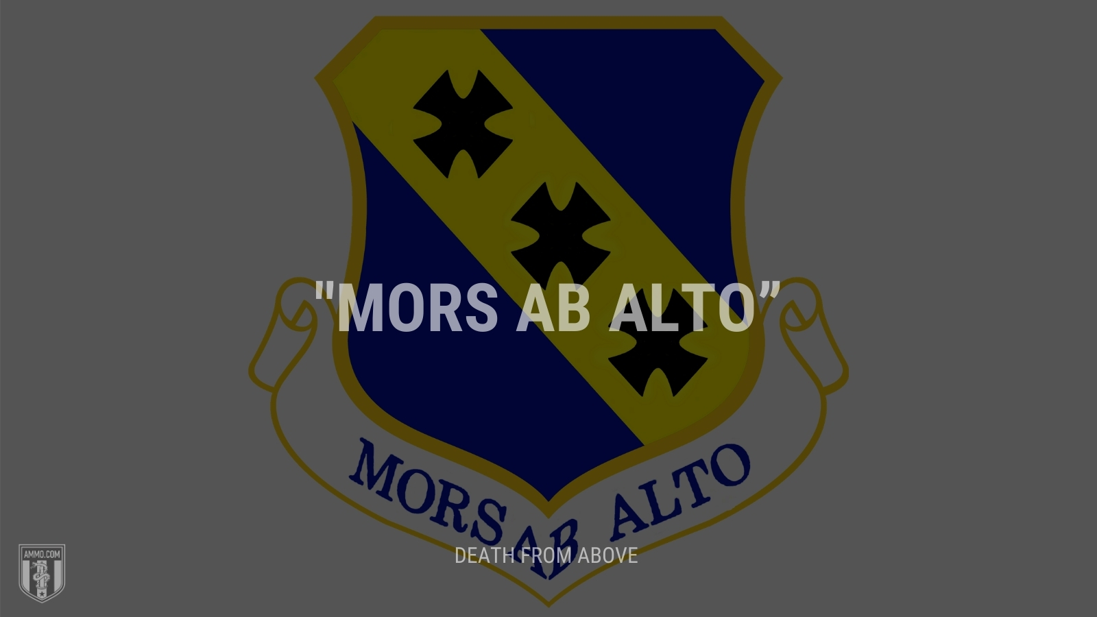 """""""Mors ab alto"""" - Death from above"""